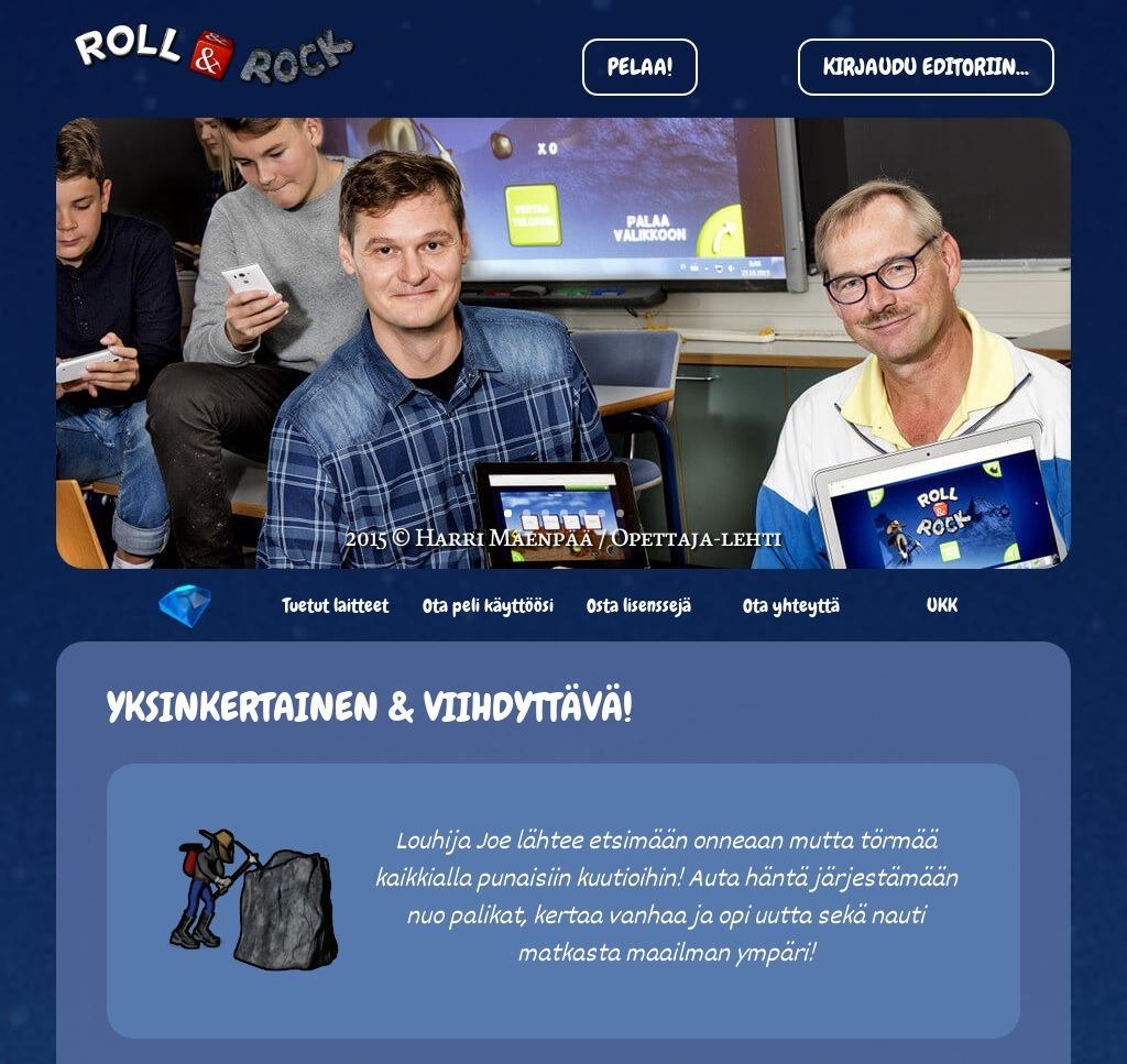 RollNRock-website-screenshot